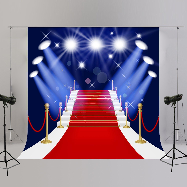 Red Carpet Hollywood Party Photo Booth Hintergrund Für Kamera