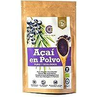 Açaí Ecológico en Polvo, Açaí Berry Organic Powder Biológico Orgánico, Bayas de Acai Organico en Polvo. Hecho con la…