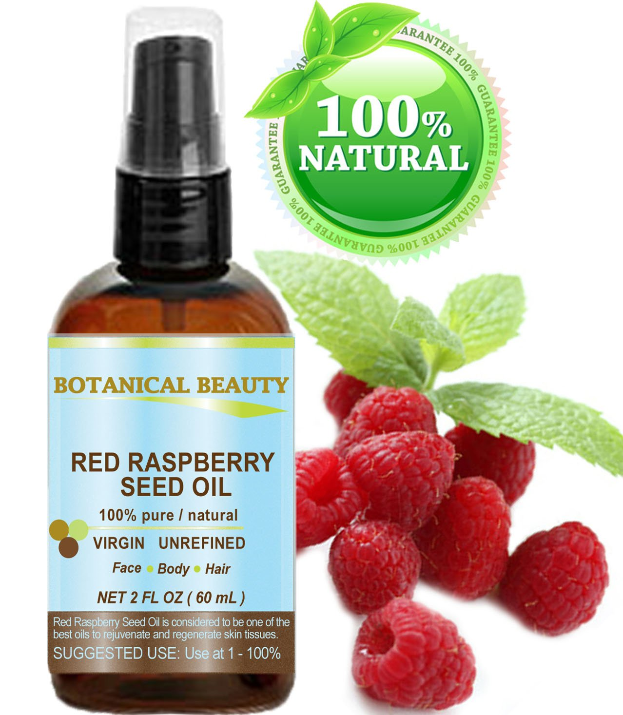 Red Raspberry Seed Oil Natural Hair