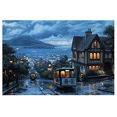 VANSOON Well-Known Building Landscape Jigsaw Puzzles 150 Pieces for Adults Children's Puzzle Toy, Ancient Building Jigsaw Puzzle, DIY Collectibles Modern Home Decoration: Toys & Games