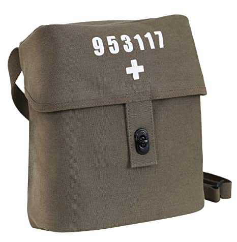 Amazon.com  Rothco Swiss Military Canvas Shoulder Bag  Army Universe 53d72224519