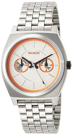 87ac4b2295 [ニクソン]NIXON 腕時計 NIXON STARWARS TIME TELLER DELUXE SW: BB-8 SILVER