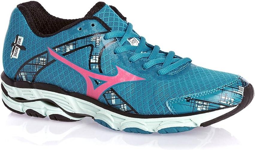 Mizuno Wave Inspire 10 - Zapatillas de running para mujer, color azul, talla 43 EU: Amazon.es: Zapatos y complementos