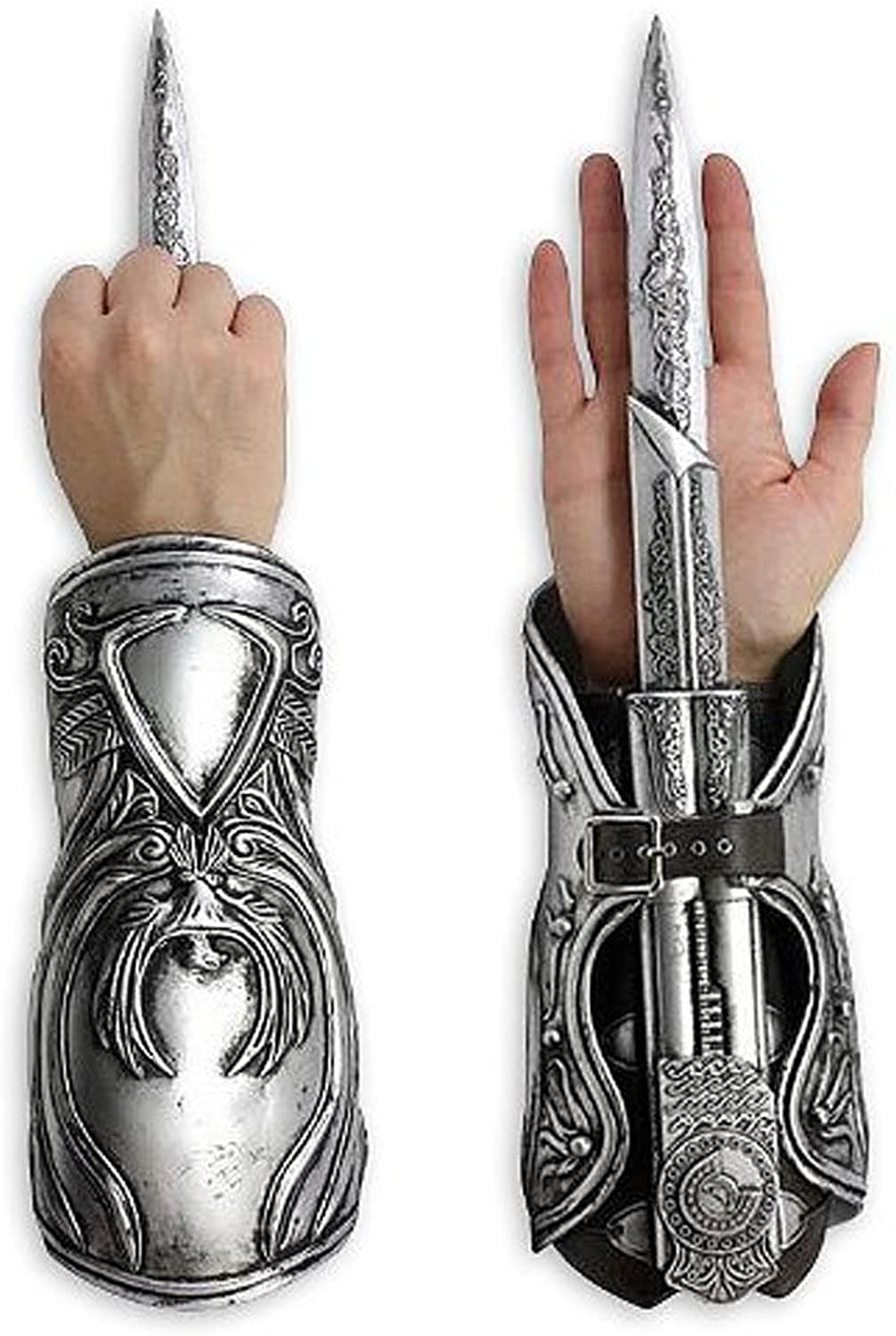Amazon Com Assassin S Creed Ezio Auditore Gauntlet With Hidden