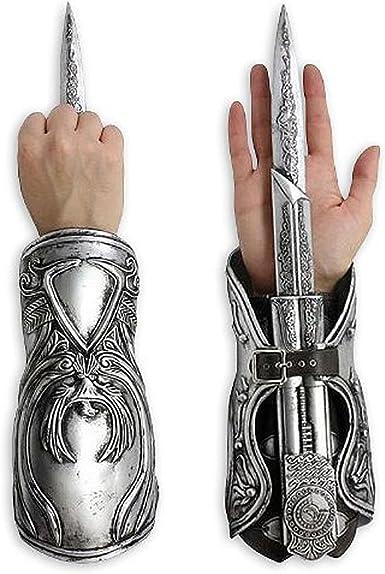 Amazon Com Assassin S Creed Ezio Auditore Gauntlet With Hidden Blade Replica Clothing