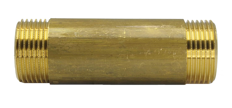 16 bar Material Messing Rohrdoppelnippel G 1-40 mm