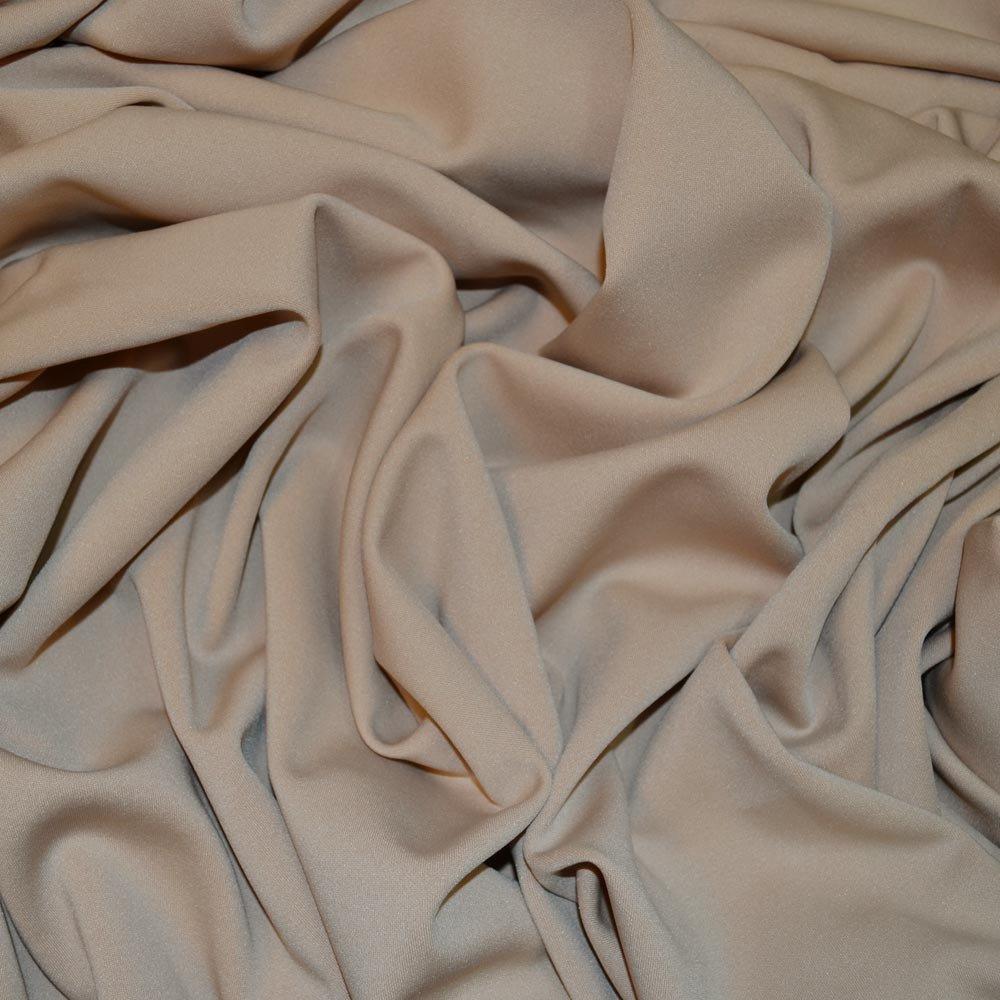 Nude Scuba Stretch Crepe Fabric (C7667) SKU07845
