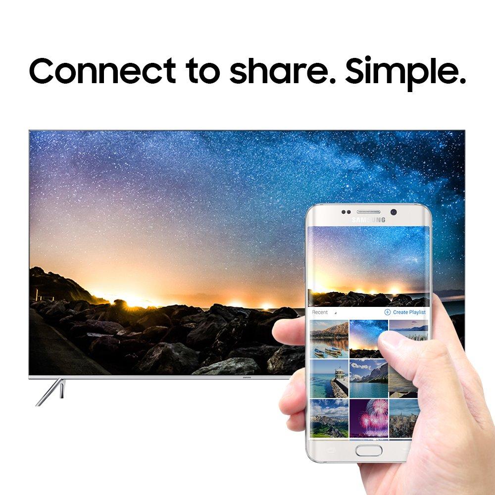 samsung 65 inch tv. amazon.com: samsung un65ks8000 65-inch 4k ultra hd smart led tv (2016 model): electronics 65 inch tv