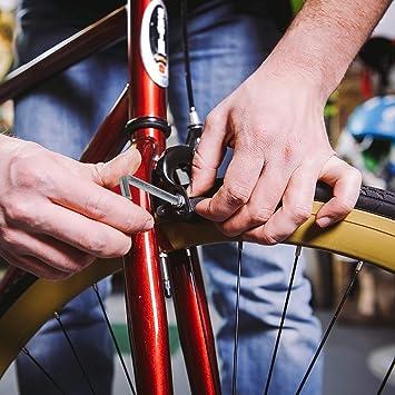 Metall Neu Praktisch Bremsklotz Fahrrad Kühlscheibe Schwarz Halbmetall