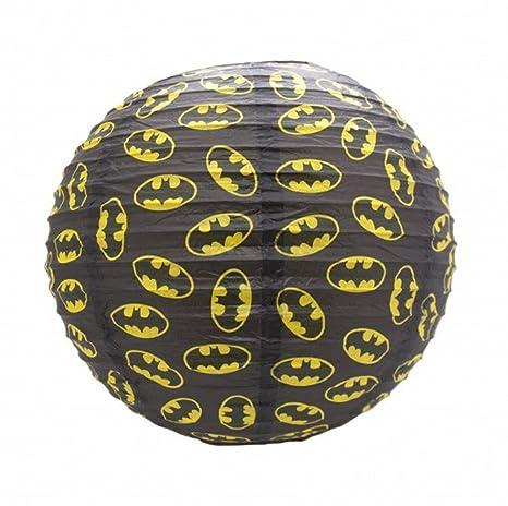 DC Comics - Papel lámpara techo - Batman - Logo: Amazon.es ...