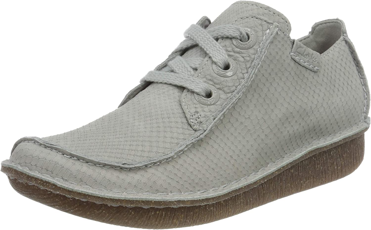 Clarks Girl's Houston Ranking TOP19 Mall Derby UK Lace-Up 8