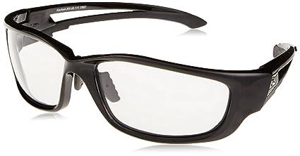 1080f679287e0 Edge Kazbek XL Safety Glasses With Black Frame And Clear Lens ...