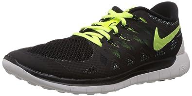 Online Shopping Nike Free 5 0 Running Shoes Electric yellow Black NNJe Z36B