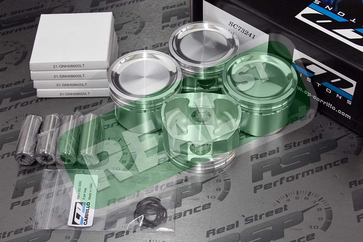 CP Pistons SC7324-1 Piston and Ring Set for Nissan
