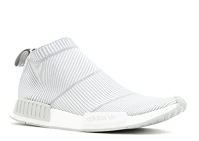 e2ed00bac Adidas NMD City Sock CS1 PK Primeknit - Grey White Trainer  Amazon ...