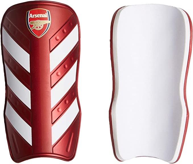 Shin Pads Guards Kids Protection Age 7-9 approx 19cm Arsenal F.C