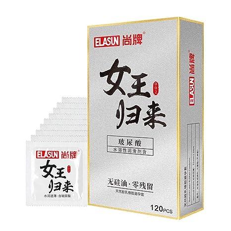 Hui.Hui 120/12pcs Preservativos Preservativos de látex para pene ...