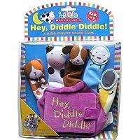 (进口原版) 拇指偶布书 Little Scholastic: Hey Diddle Diddle Hand Puppet