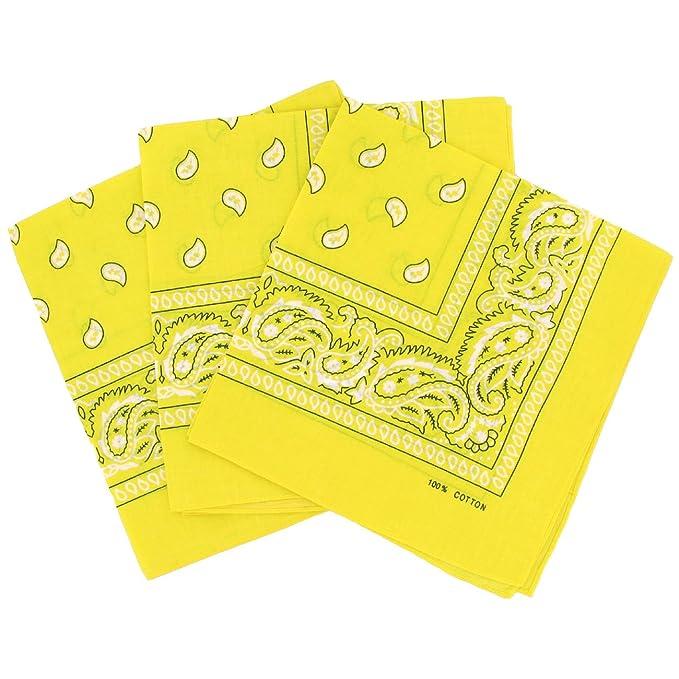 7577ca4616a0 Bandanas paisley lot de 3 - Foulard coton motif cachemire, accessoire  cheveux tendance
