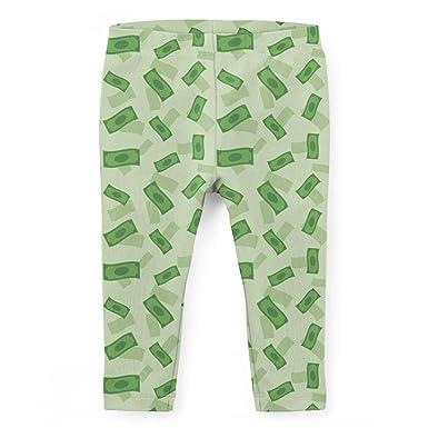 12f1a521fbd709 Amazon.com: Dollar Bills Kids Leggings: Clothing