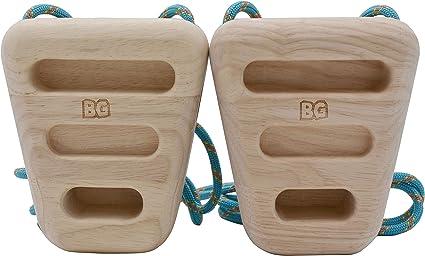 BG Climbing Los únicos anillos de madera de doble cara para ...
