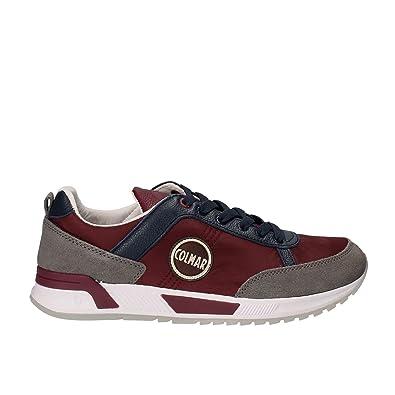 COLMAR E7478 Sneaker Uomo BluBordeaux Travis Scarpe Shoe