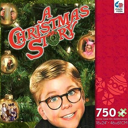 A Christmas Story.A Christmas Story 750 Piece Jigsaw Puzzle