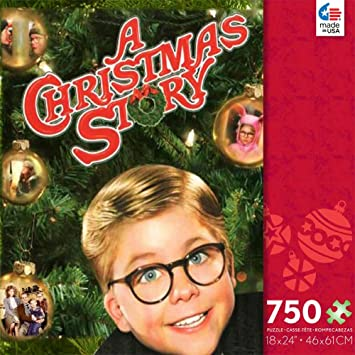 Amazon.com: A Christmas Story 750 Piece Jigsaw Puzzle: Toys & Games