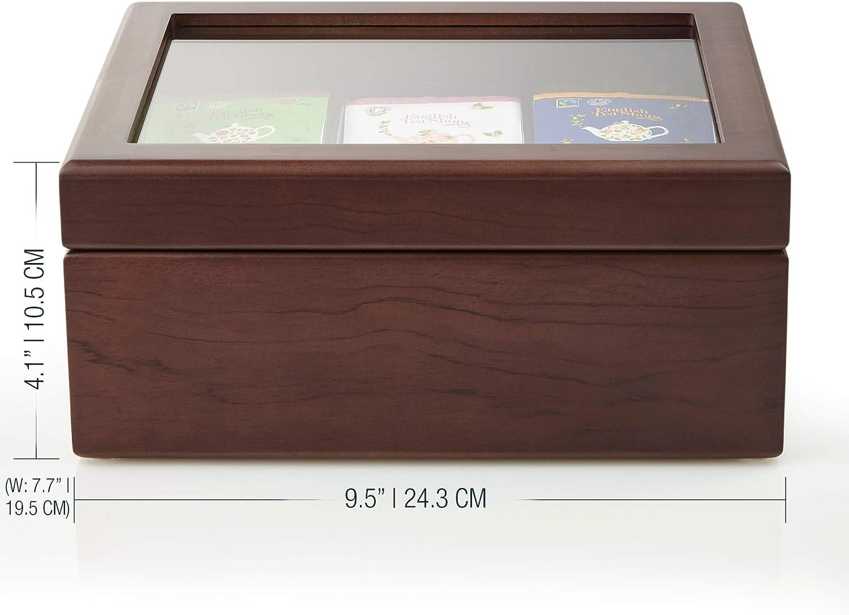 Tee-Box 24 x 16,5 cm Holz