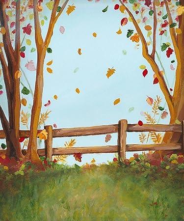 amazon com fall photography backdrop autumn photo backgrounds