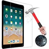 【Pysea】2018/2017新型iPad 9.7インチ/iPad Pro 9.7/ipad air/ipad air2用強化ガラスフィルム 日本旭硝子素材 厚0.3mm 2.5Dラワンドエッジ加工 硬度9H ガラス飛散防止 指紋防止 気泡ゼロ 自動吸着