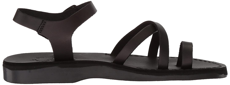 Jerusalem Sandals Women's Medium Ava Sandal B075KVHJ8K 37 Medium Women's EU (6-6.5 US)|Black 088cf5