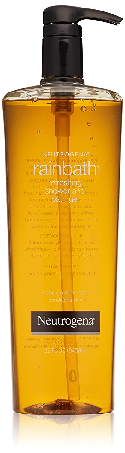 Neutrogena Rainbath Refreshing Shower & Bath Gel, Original 32 fl oz (946 ml) 070501011300