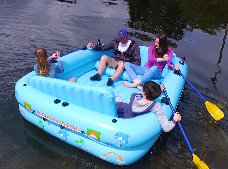 Barco hinchable multifuncional 10 en 1: Amazon.es: Deportes y aire ...