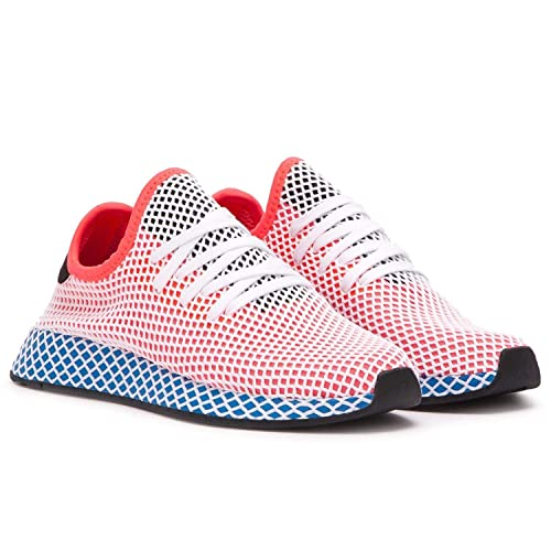 adidas Deerupt Runner Womens in Solar Red Bluebird
