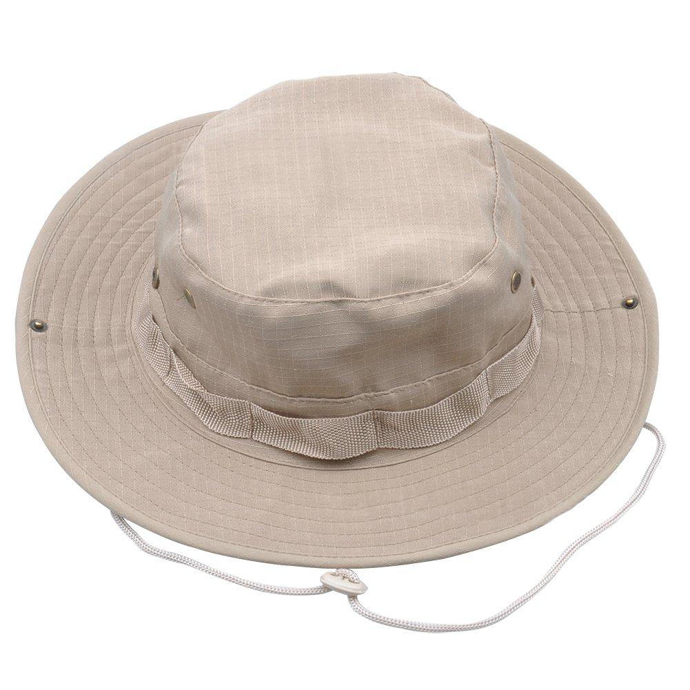 Gespout Sombreros Gorras para Mujer Hombre Paño Protección Solar Viaje Playa  Sol Verano Pescar Senderismo Bohemia Estilo 1pcs 60   31CM Marrón   Amazon.es  ... 69abe8165c3