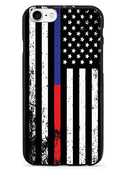 newest fabb3 045ae Amazon.com: Inspired Cases Downward American Flag - Thin Blue Line ...