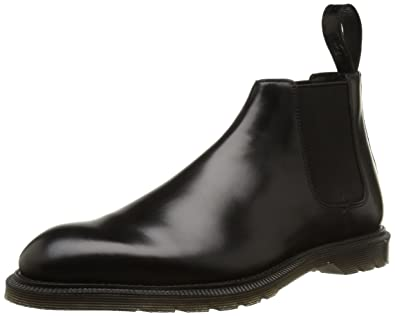 b5a230b86460b4 Dr. Martens WILDE Polished Smooth Herren Chelsea Boots  Amazon.de ...