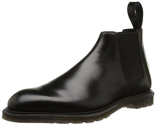 Dr. Martens WILDE Polished Smooth - Botas de cuero para hombre, Schwarz (Black), 45: Amazon.es: Zapatos y complementos
