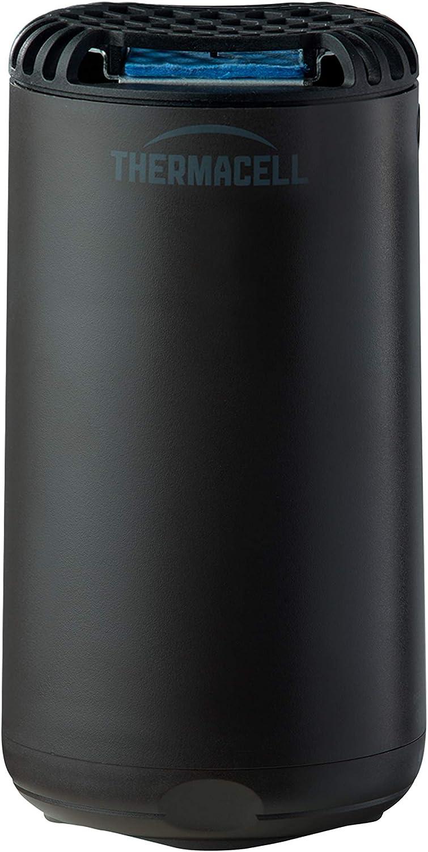 Thermacell Anti Mosquito para Exterior. 20 m2 de protección sin DEET, Incluye difusor + Recarga + 3 recambios, Negro