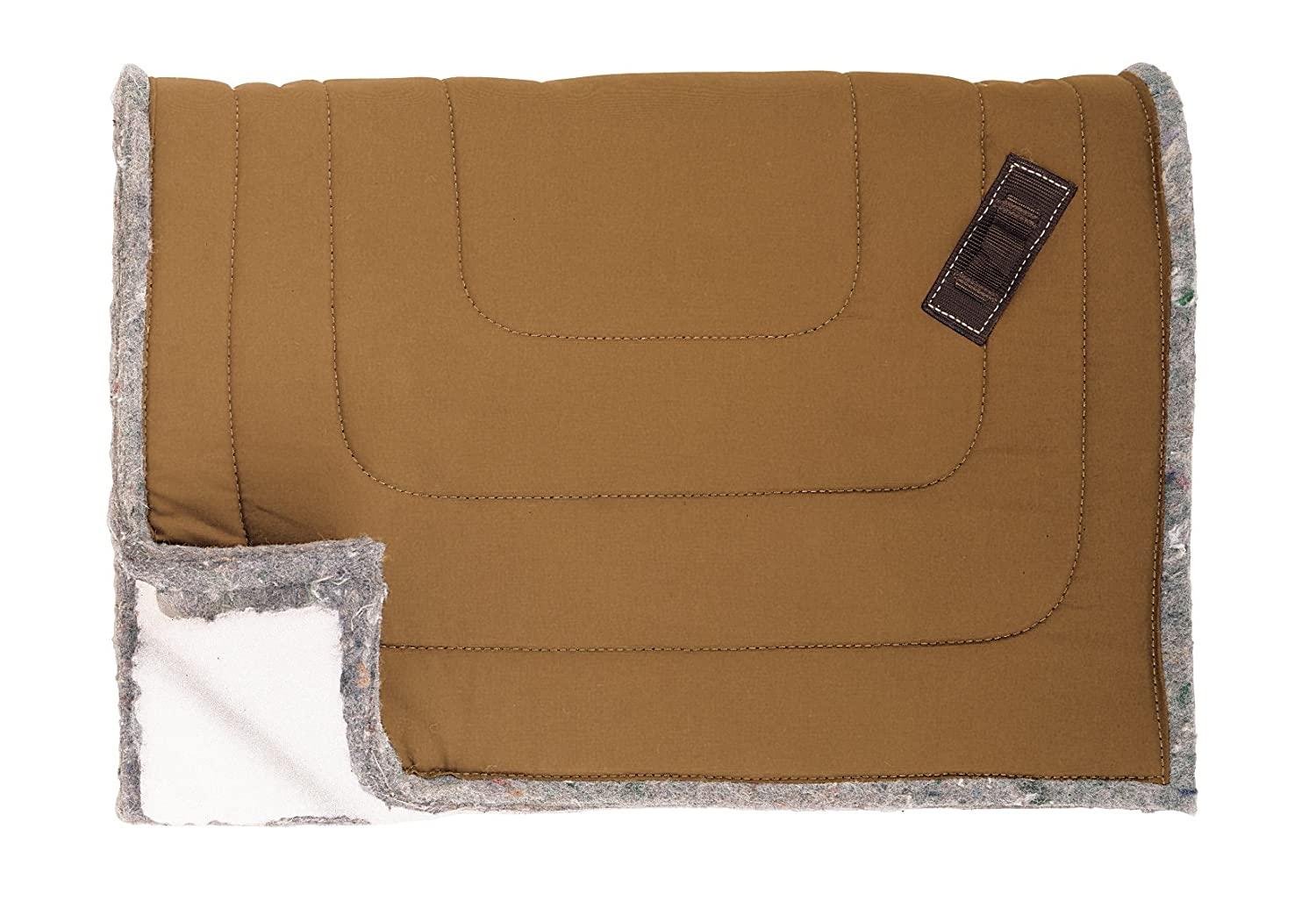 Weaver Leather Weaver Leather Combination Pack Saddle Pad 35-1800, Brown, 30  x 44