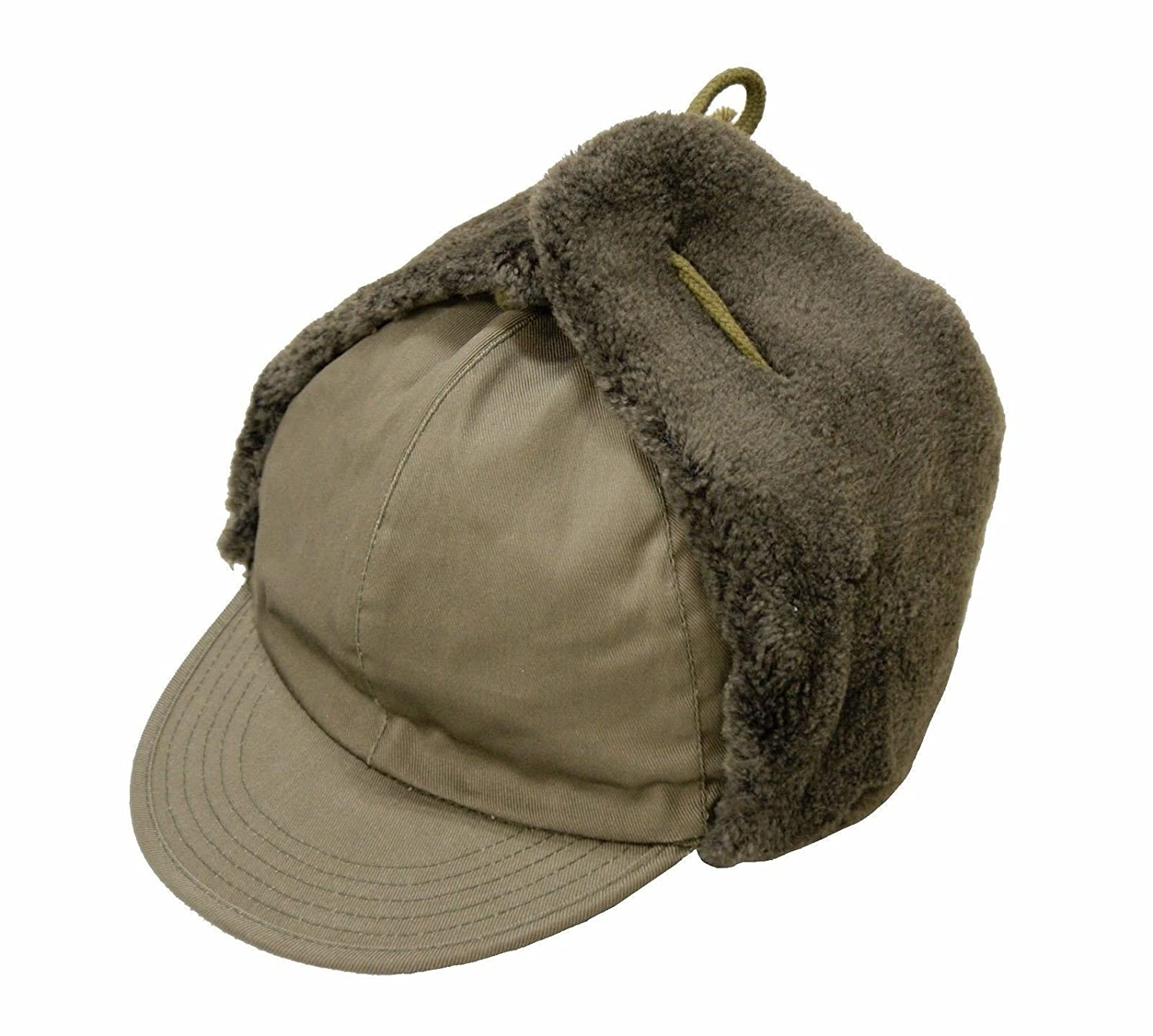 a4cab6f2b4c Cobmaster Brand New Warm Military Army Trapper Hat Foreign Legion Cold  Weather Winter Cap  Amazon.co.uk  Clothing
