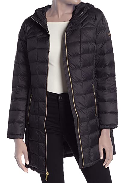 MICHAEL Michael Kors Zip Quilted Lightweight Packable Puffer
