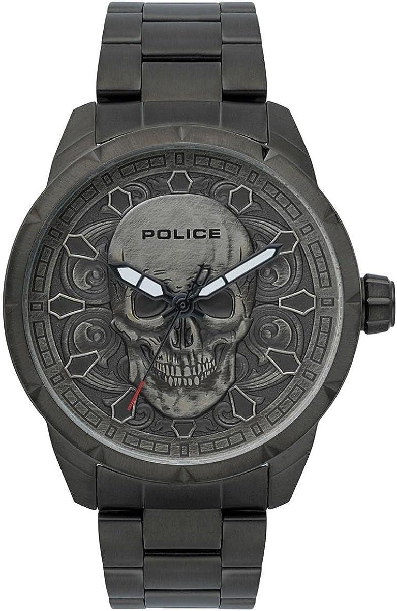 Police Reloj Cronógrafo para Hombre de Cuarzo con Correa en Acero ...