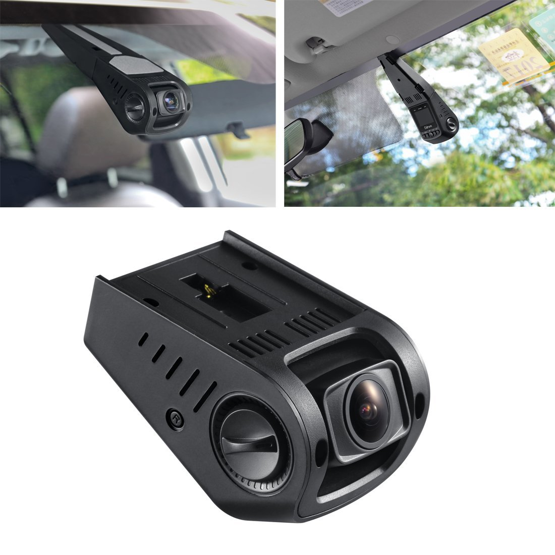 ODRVM Full HD 1080P Dash Cam for Cars Dashboard Camera: Amazon.co ...