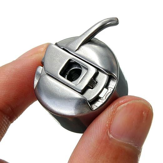 Isuper Conjunto de 1 Canillero Más 5 Canilla Metal de Máquina Costura Accesorios de Coser Manualidades Compartible con Varias Máquinas: Amazon.es: Hogar