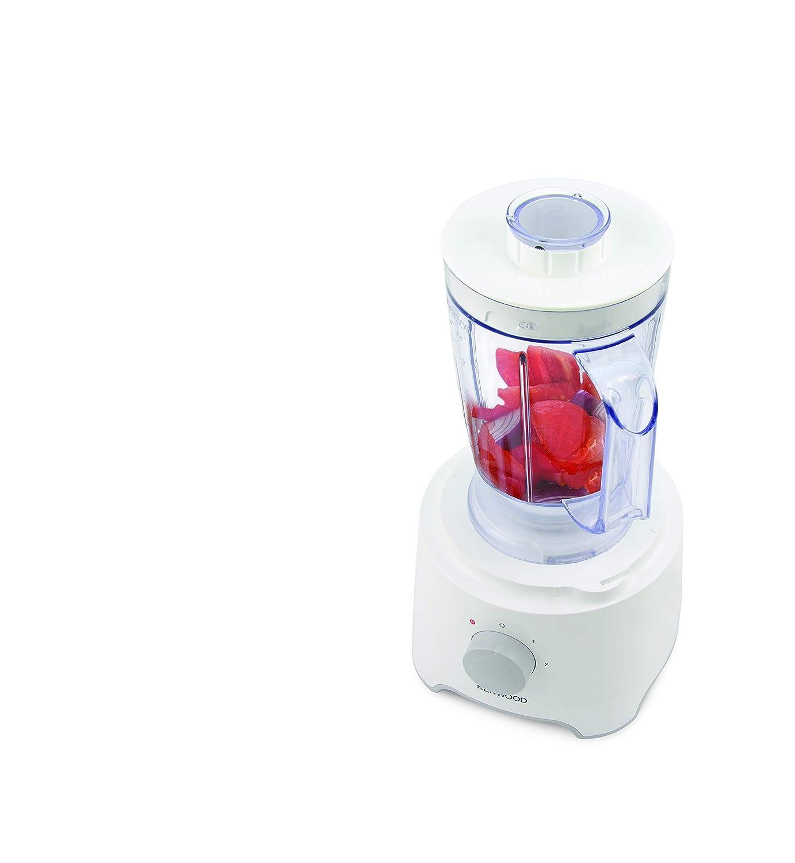 Kenwood FDP302WH Procesador de alimentos con capacidad de 2.1 L, 2 ...