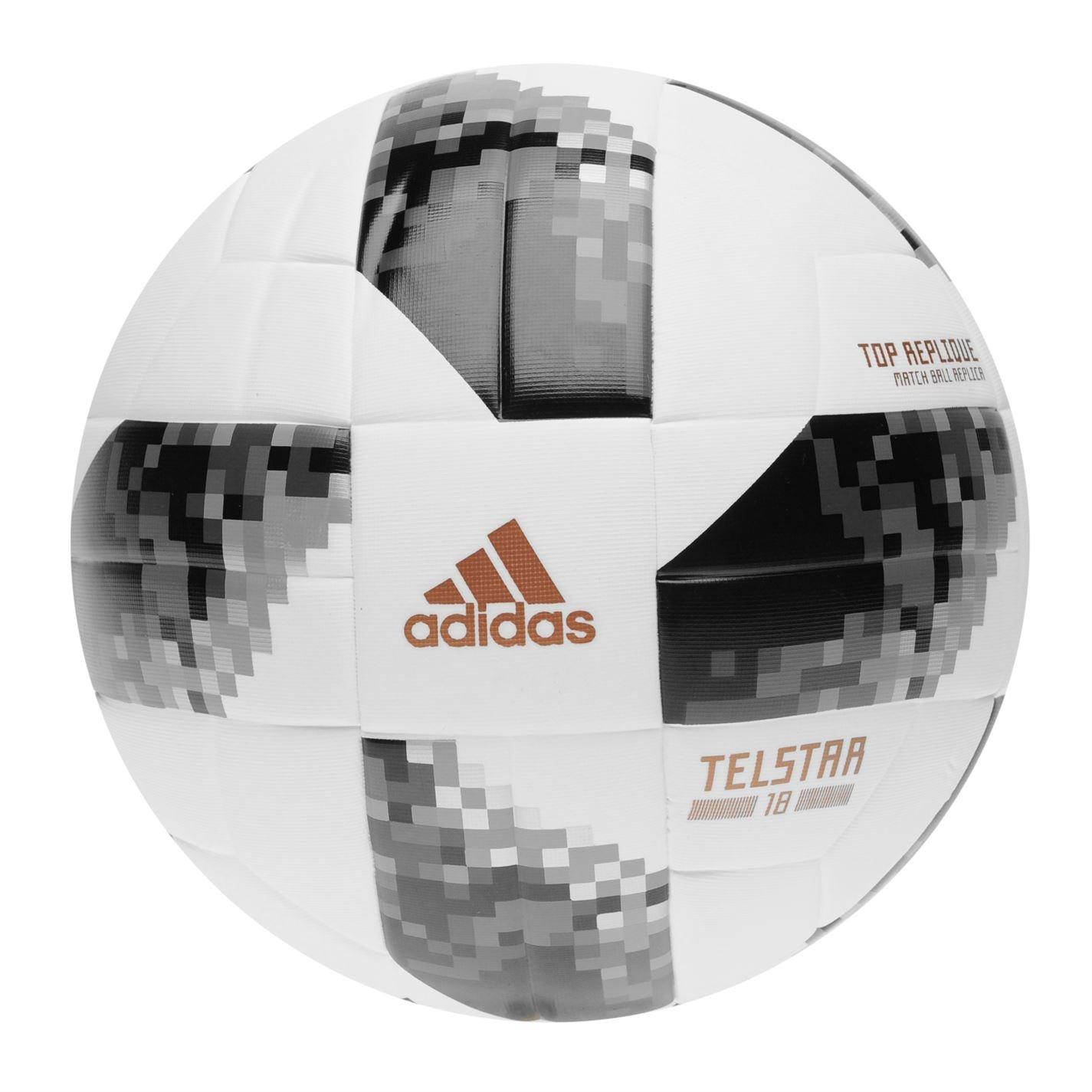 BALL FIFA WORLD CUP TOP REPLIQUE White/Black/Silver Metallic 2018 Adidas 5 ADIL0|#adidas CE8091