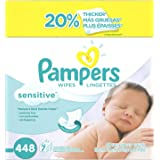 Pampers Baby Wipes Sensitive iPOSZx, 2Pack (448 Count)