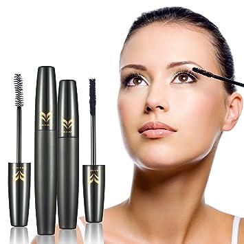 ff0e27fc992 Ladygo Waterproof Mascara Volume 3D Fiber Black Lash Eye Mascara Clinique  Organic Falsies Natural Lengthening,